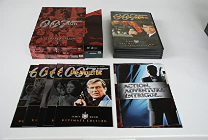 James bond ultimate edition dvd cover dvd covers & labels by.