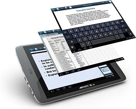 Archos Turbo 80 G9 16GB Black - Tablet (IEEE 802.11n, Android, Pizarra, Android, Negro, Polímero de Litio): Amazon.es: Informática