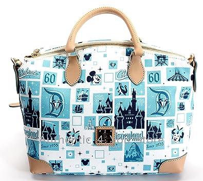 1acf41eacba Amazon.com  Disney Dooney   Bourke Bag Disneyland 60th Diamond ...