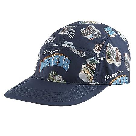 Nike SB Seasonal Print 5 Panel Hat - Midnight Navy: Amazon.es ...