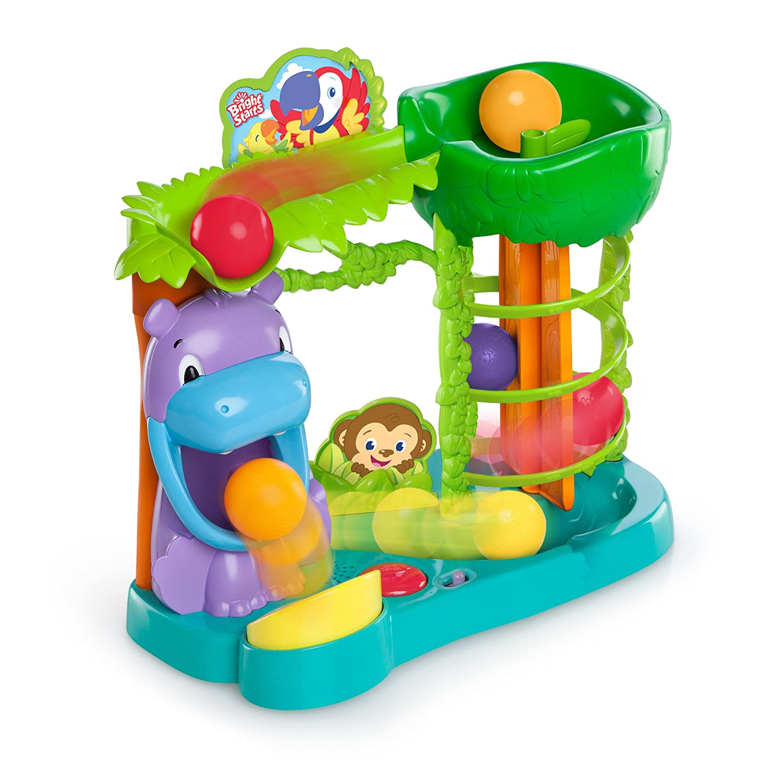 Amazon Bright Starts Baby Toy Jungle Fun Ball Climber Baby