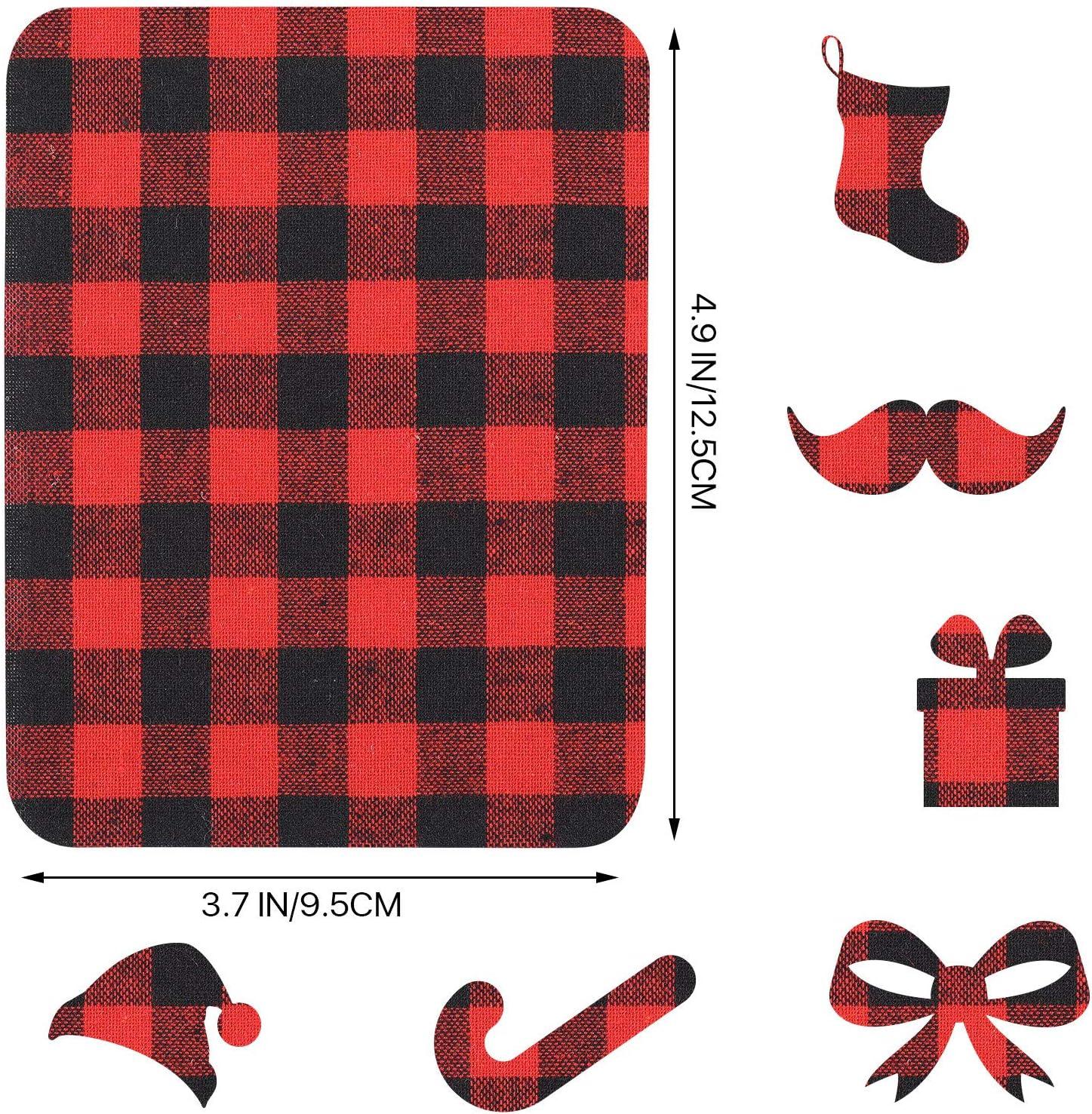vaqueros pantalones 20 piezas Parches de tela de vinilo de b/úfalo para planchar o planchar para reparaci/ón de ropa de tela de cuadros 4.9 x 3.7 pulgadas chaquetas