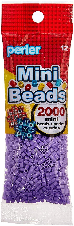 Canutillos Mini Hama Beads, 2000 Unidades, Violeta