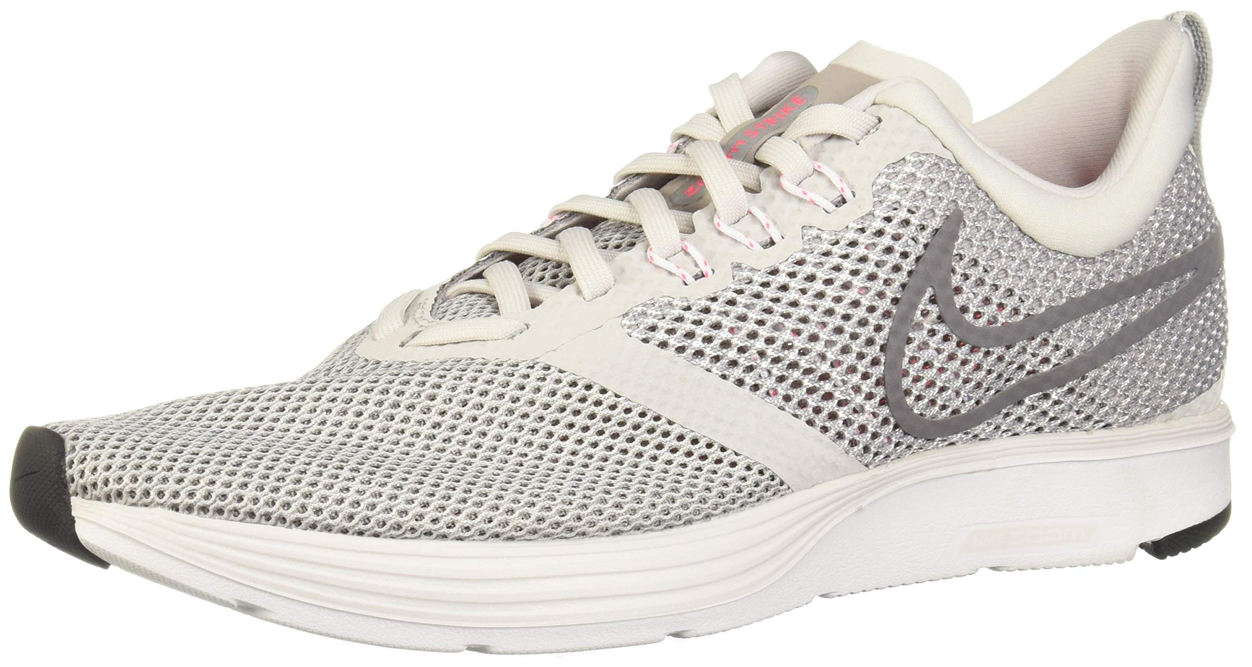 Nike Women's Zoom Strike Vast Grey/Gunsmoke Ankle-High Running Shoe - 6.5M