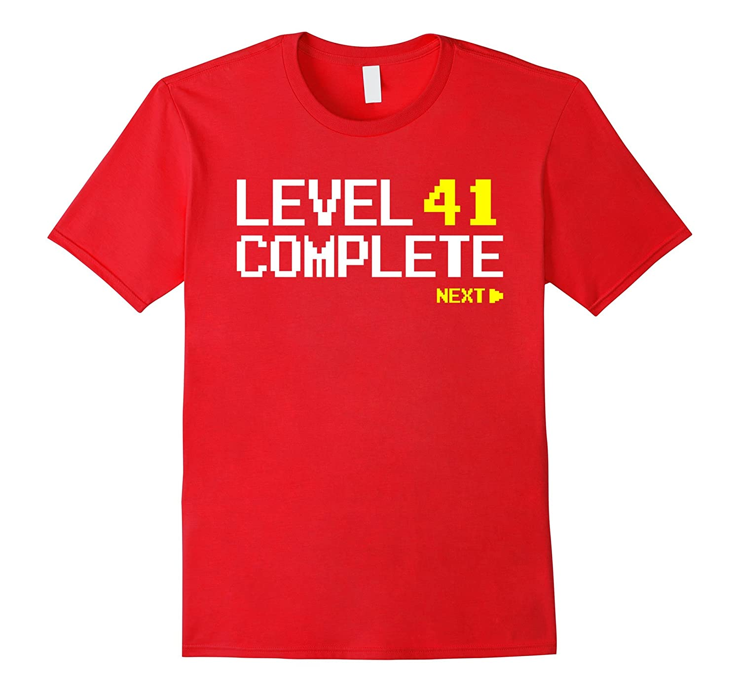 Level 41 Complete T-shirt 41st Birthday Gifts-Teevkd