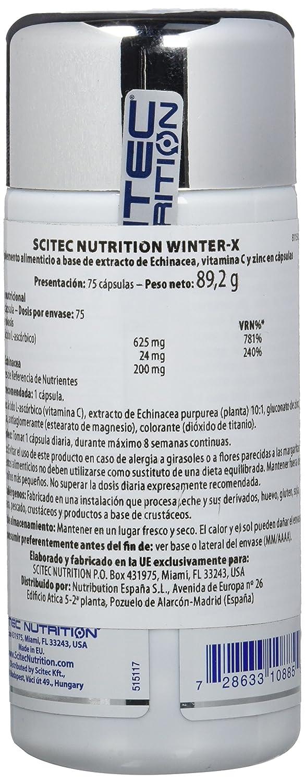 Scitec Echinacea, Vitamina C y Zinc - 75 gr: Amazon.es: Salud y cuidado personal