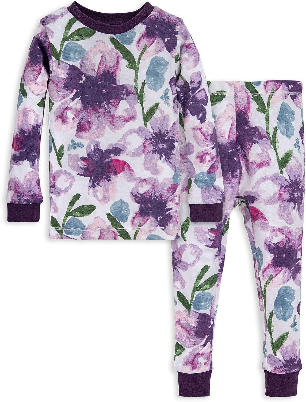 5 Years 100/% Organic Cotton Tee and Pant 2-Piece PJ Set Burts Bees Baby Baby Boys Pajamas Antler Family