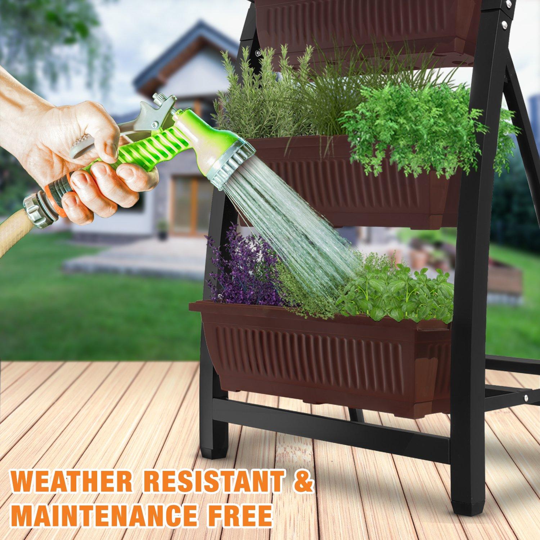 Amazoncom 6 Ft Raised Garden Bed  Vertical Garden Freestanding Elevated