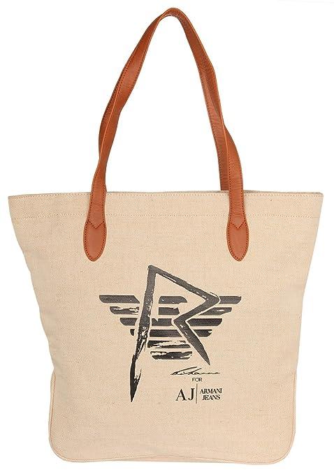 Armani Jeans Women Shopper Beige R521GG2-N1  Amazon.co.uk  Luggage 910d2b459e7c