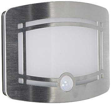 [LED Lampe Murale] OxyLED® Lampe Détecteur De Mouvement En Aluminium Sans  Fil LED