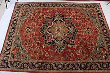 Amazon Com Stampa Rugs 11 7 X 9 Ft Hand Knotted Persian