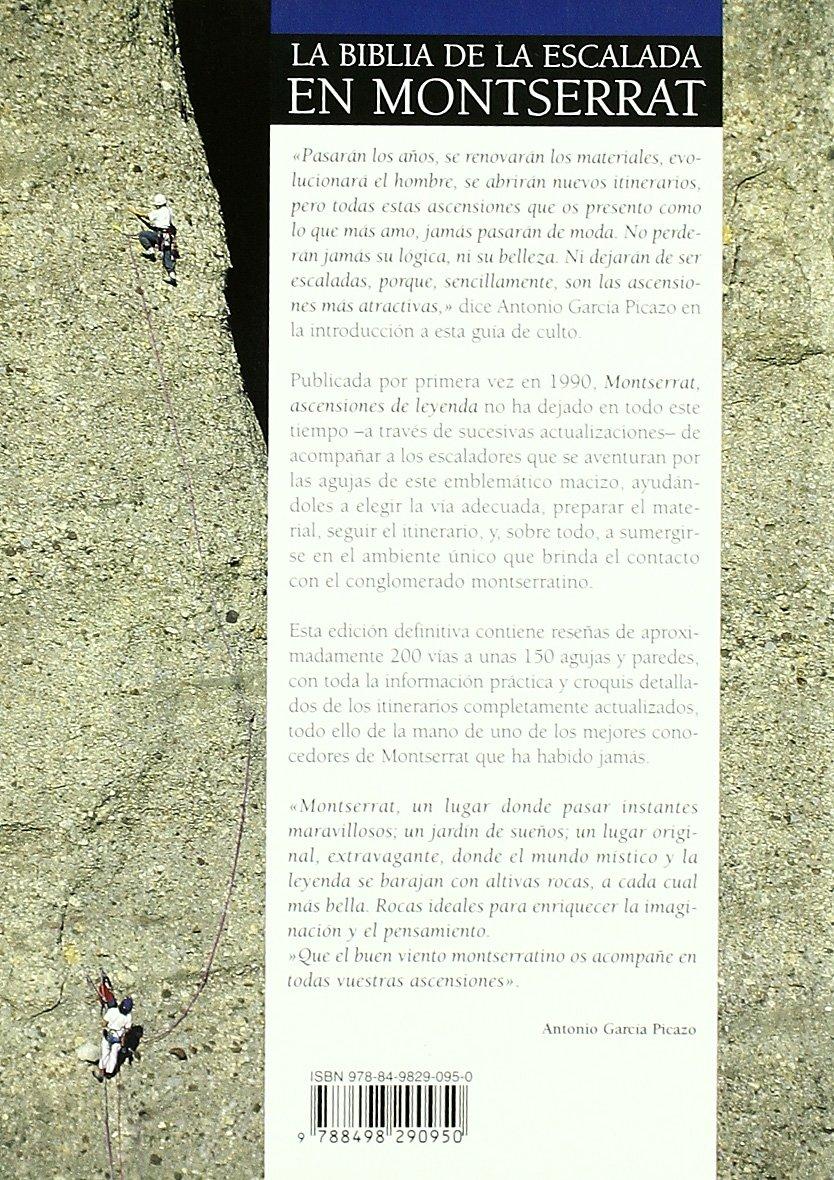 Montserrat - ascensiones de leyenda: Amazon.es: Garcia Picazo ...