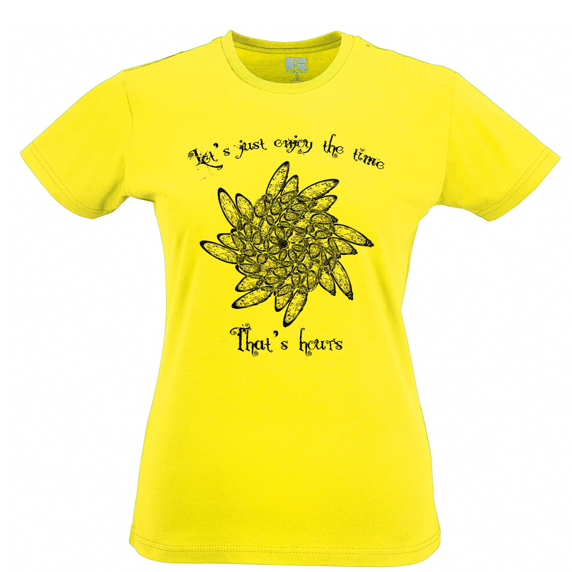 Enjoy The Time That's Hours Womens T-Shirt by Tim And Ted