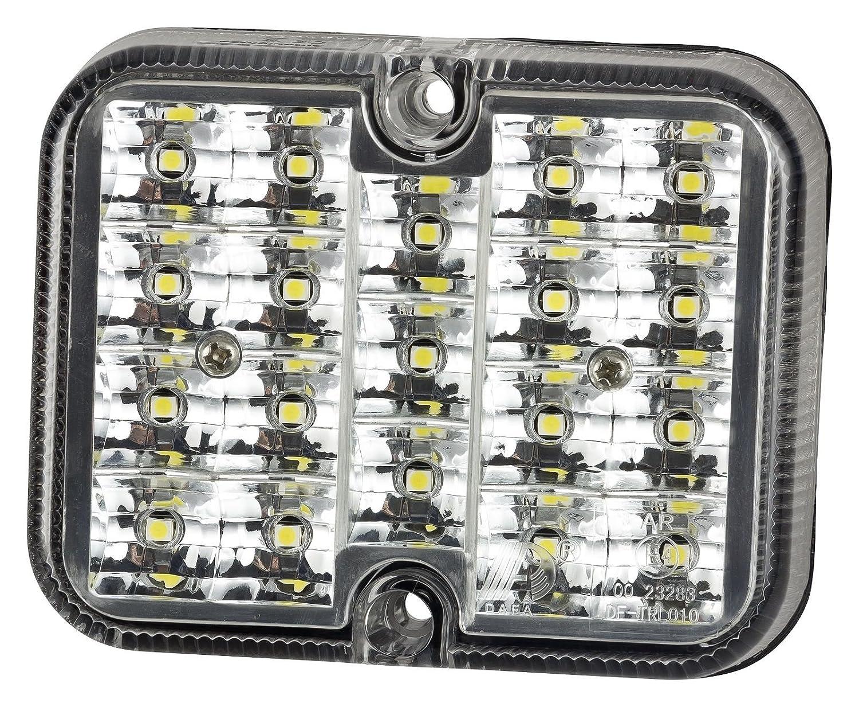 LED Rü ckfahrscheinwerfer Rü ckfahrleuchte Rü ckfahrlicht klar 19LEDs 12V