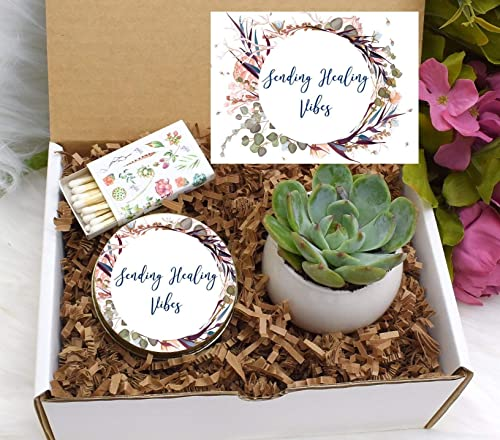 Get Well Soon Gift Gift box for a friend Get well soon Sending good Vibes Gift Send A Gift Friend gift box Get Well Gift Box