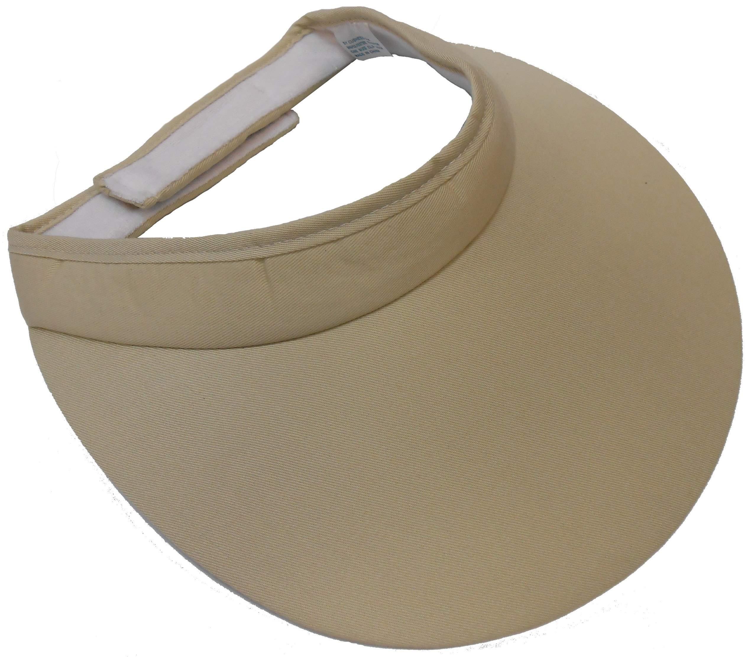 Extra Wide Cloth Visor [Style 222]