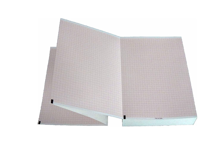 tecnocarta ensamblados de papel térmico para ECG compatible con Burdick Eclipse 007980