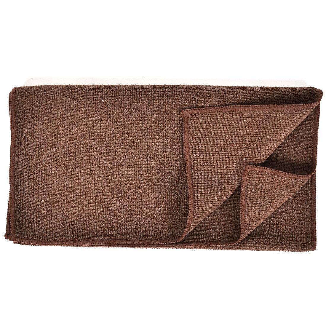 Amazon.com: eDealMax Mezcla de algodón Limpieza del hogar Baño cara de la Mano de toallas Terry paño de Brown: Home & Kitchen