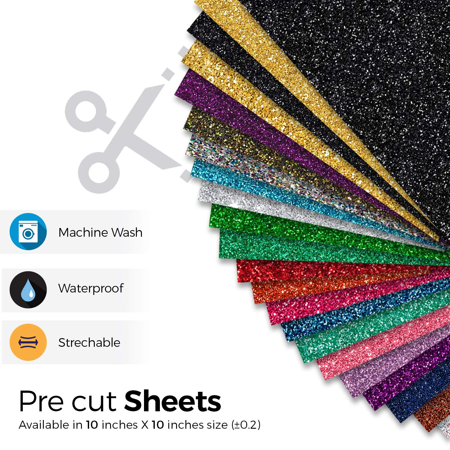 Easy to Cut Press /& Weed Pink Glitter Vinyl Pink for T Shirts Sports Clothing Other Garments /& Fabrics Pack of 4 Sheets Glitter Iron On Vinyl MiPremium Glitter Pink Heat Transfer Vinyl