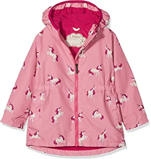 245531ab2715 Amazon.com  Hatley Girls  Sherpa Lined Splash Jacket  Clothing