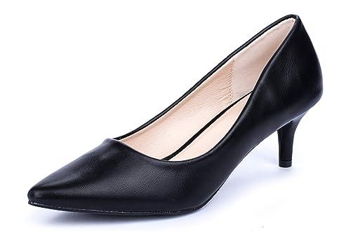 cd788736 La Push Jade Zapatos Tacón Mujer Negros: Amazon.es: Zapatos y complementos