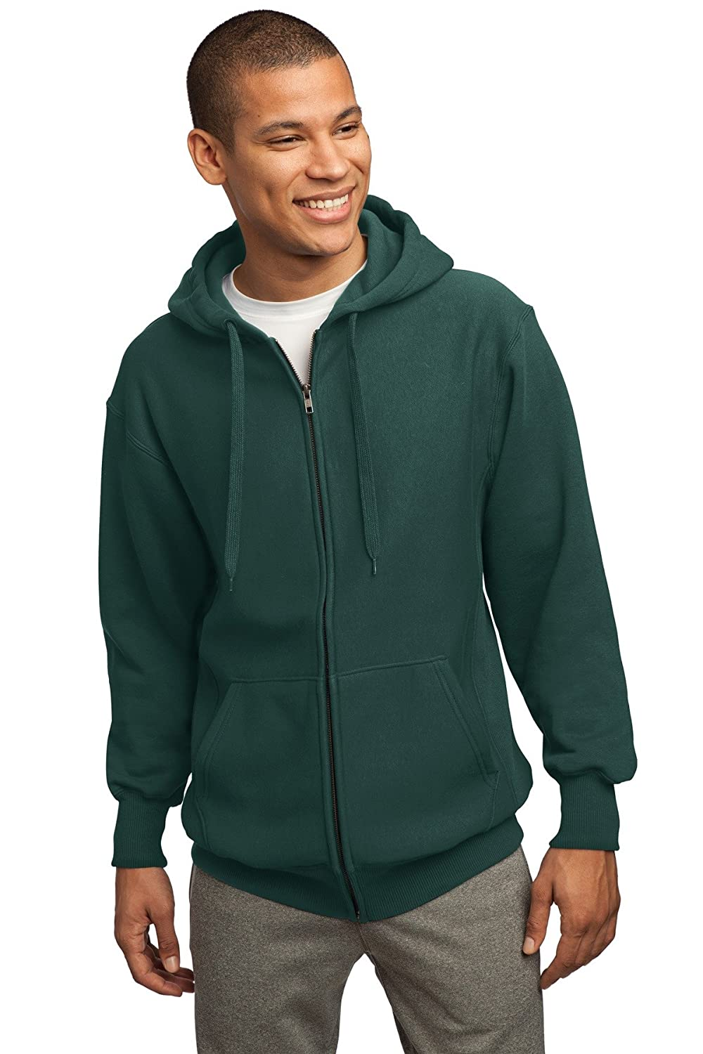 Sport-tek F282 Super Heavyweight Full Zip Hooded