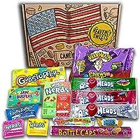 Heavenly Sweets Veganskt amerikanskt godis och presentlådor - perfekt present för barn, vuxna – födelsedag, Julafton- 13…