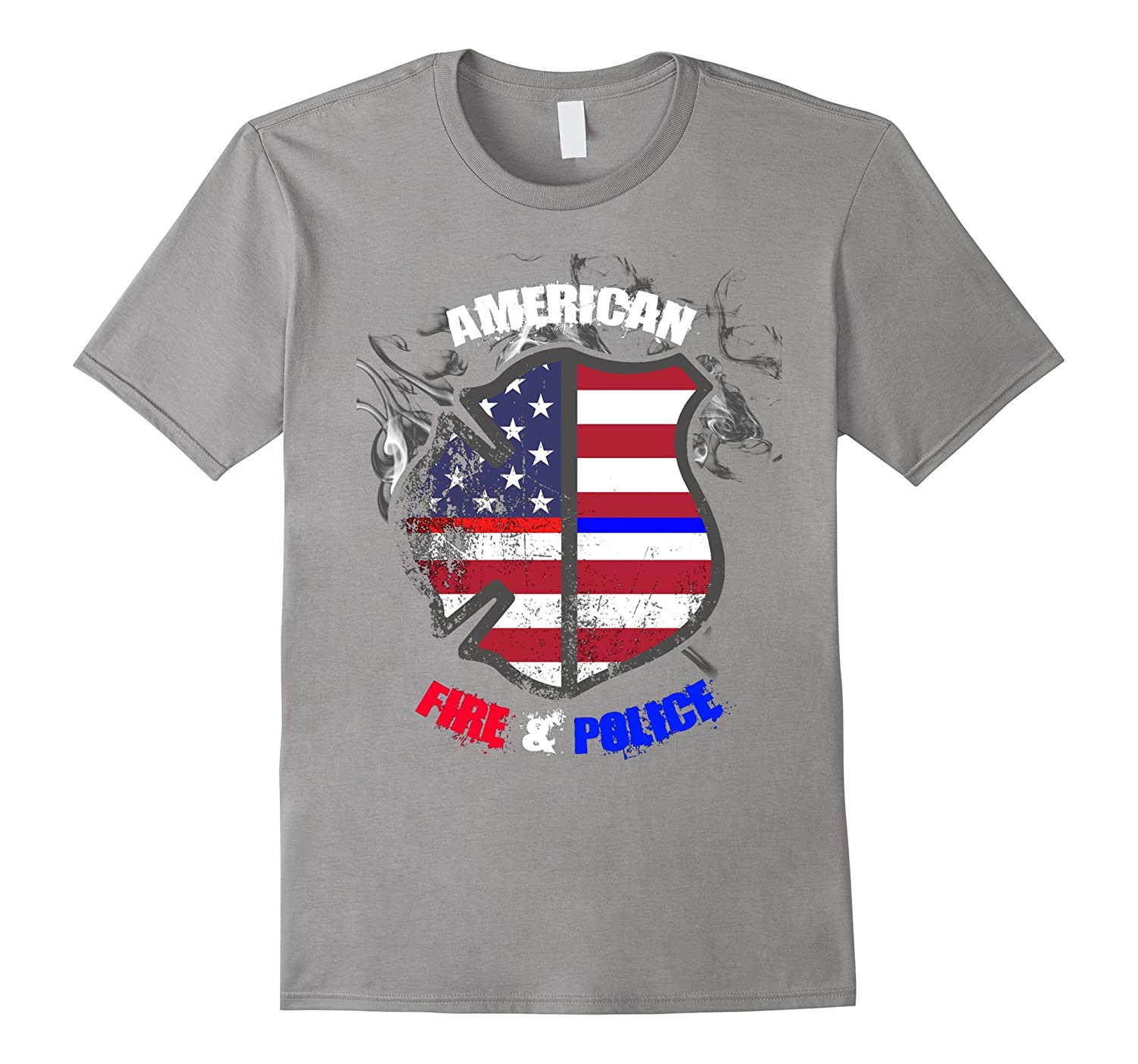 American Fire & Police T-Shirt-CL