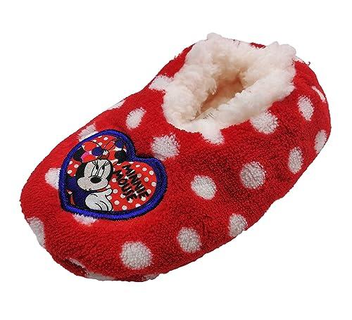 5855c4719a156 Zapatillas babuchas Infantiles Estar por casa Minnie Disney para niñas   Amazon.es  Zapatos y complementos