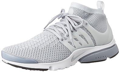 new products 0997b 1da96 Nike Herren Air Presto Flyknit Ultra Turnschuhe, Grau (Wolf Grey Pr Pltnm-