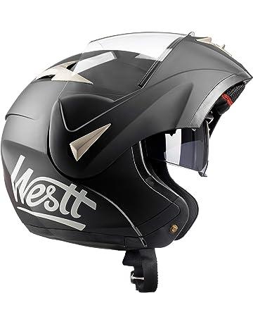 f14b4bc551c Westt® Torque · Casco Moto Modular con Doble Visera para Ciclomotor  Motocicleta y Scooter ·