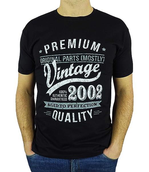 My Generation T-Shirts Vintage Year - Aged to Perfection - 18 Cumpleaños Años - Regalo de Cumpleaños Camiseta para Hombre - Negro L
