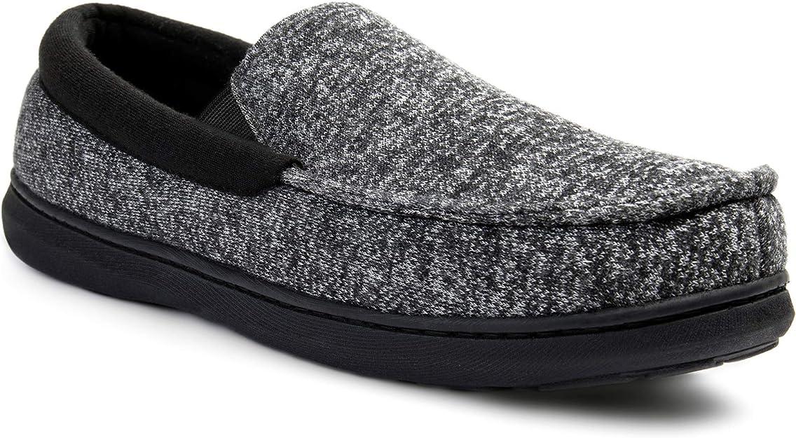 grey and black slipper