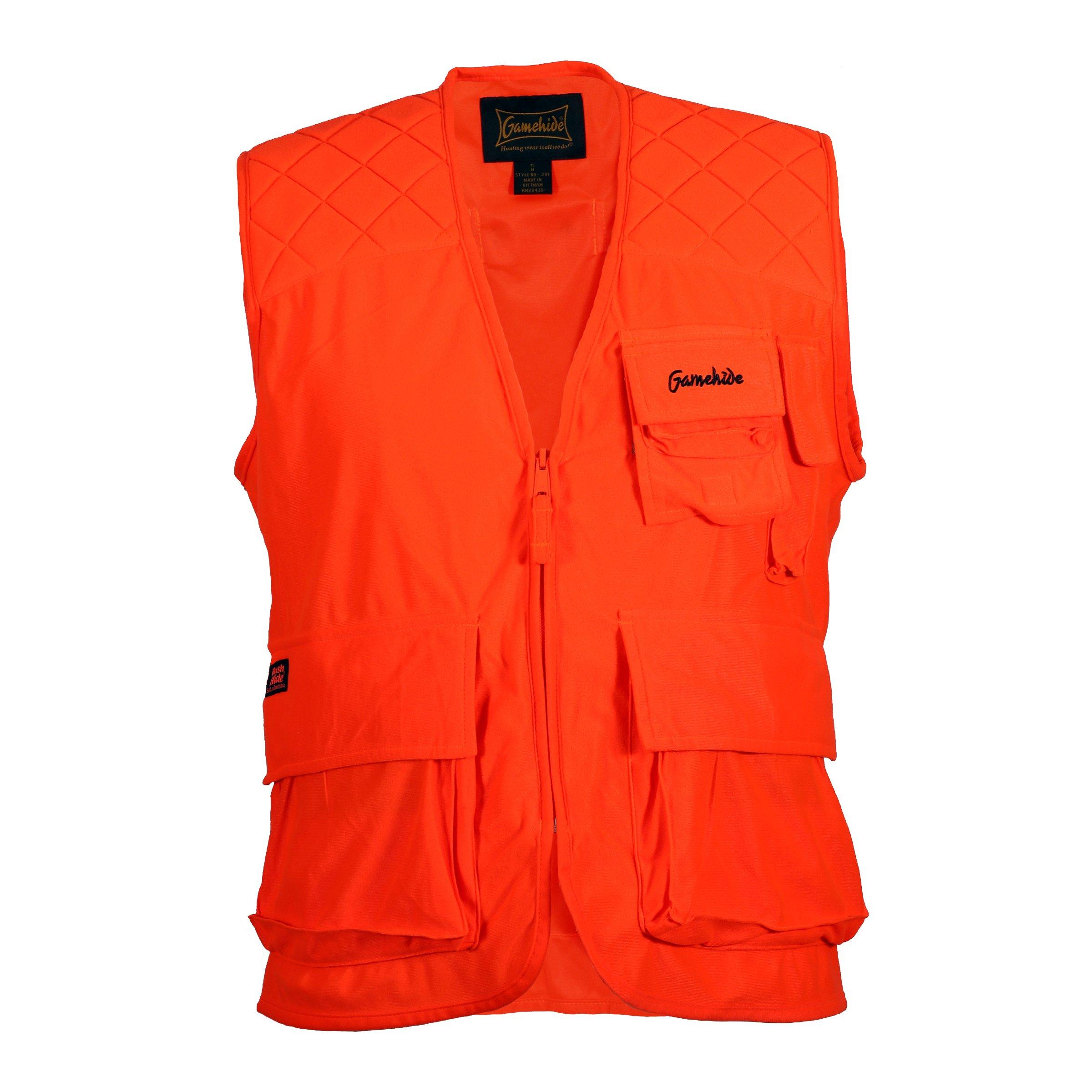 Gamehide Sneaker Big Game Vest Blaze Orange, Medium by Gamehide