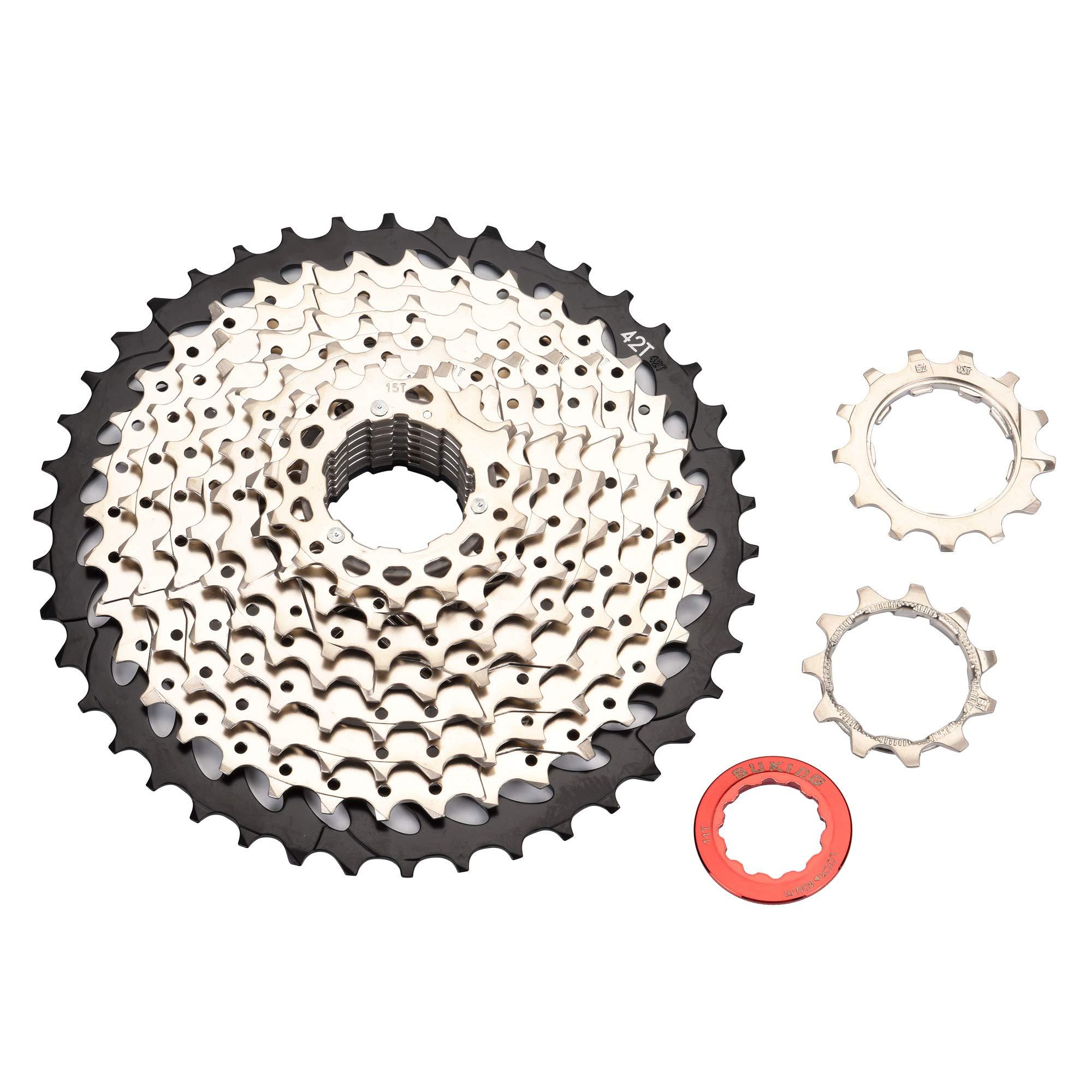 BESNIN Bike Cassette & Freewheels 10S 11-42T