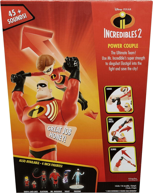 Incredibles 4508 Funktionsfiguren Power Duo Rot//Schwarz
