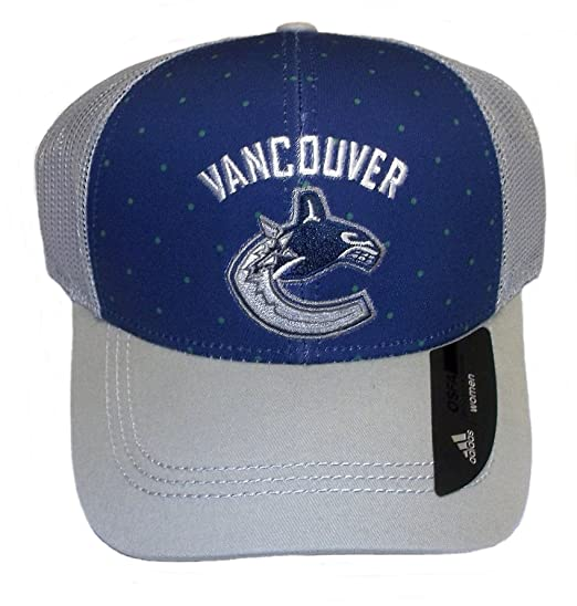 Image Unavailable. Image not available for. Color  adidas Vancouver Canucks  Adjustable Snapback Mesh Back Hat ... f49e7ccbbd41