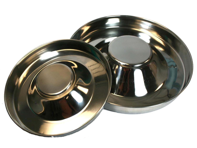 15\ OmniPet 8328 Stainless Steel Puppy Feeding Saucer, 15