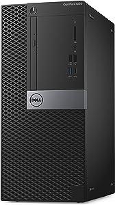 Dell OptiPlex 7050 Tower Desktop Computer, Intel Core i5-7500, 8GB DDR4, 500GB Hard Drive, Windows 10 Pro (9443K)