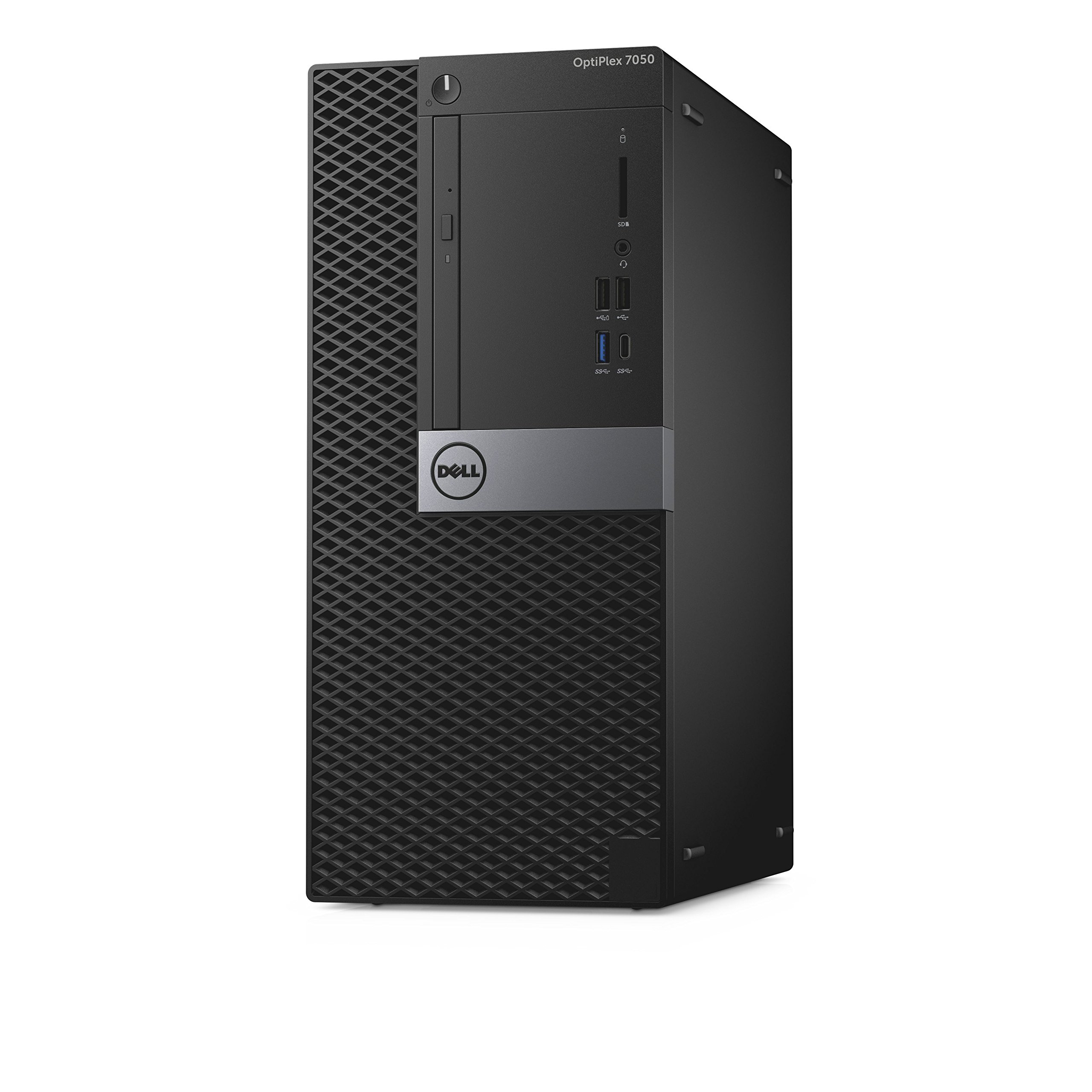 Dell OptiPlex 7050 Tower Desktop Computer, Intel Core i7-7700, 8GB DDR4, 500GB Hard Drive, Windows 10 Pro (D3HFF)