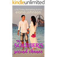 The Soldier's Second Chance: Sweet Contemporary Beach Romance (Hawthorne Harbor Second Chance Romance Book 5)