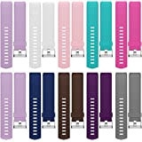Fitbit Charge 2 Band, Hanlesi TPU Soft Silicone Adjustable Replacement Sport Strap Long Band for Fitbit Charge 2 Smartwatch Heart Rate Fitness Wristband