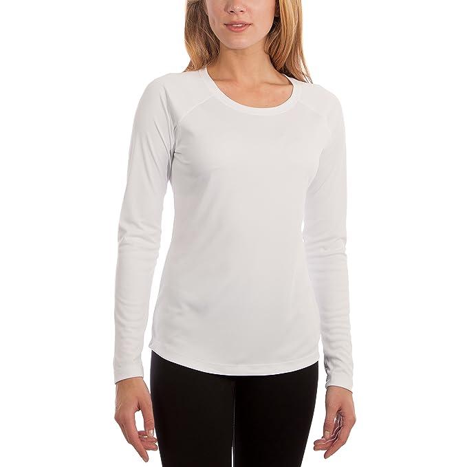 35d103170 Vapor Apparel - Camiseta de Manga Larga con protección Solar contra Rayos UV  - para Mujer - Factor 50+  Amazon.es  Ropa y accesorios
