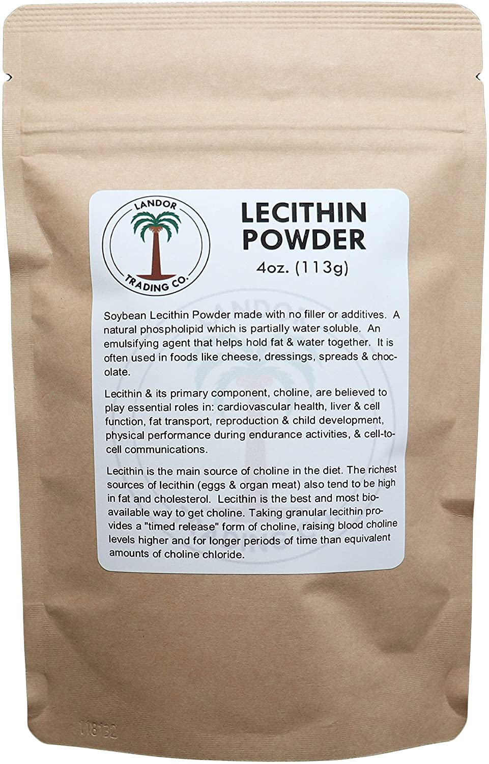 Lecithin Powder 4 Ounces