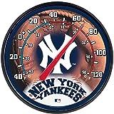 """MLB New York Yankees Thermometer, 12"""" x"""