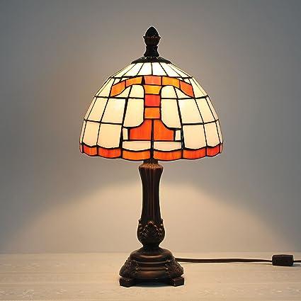 Lámpara de Mesa de Vidrio Templado de 9 Pulgadas NCAA ...