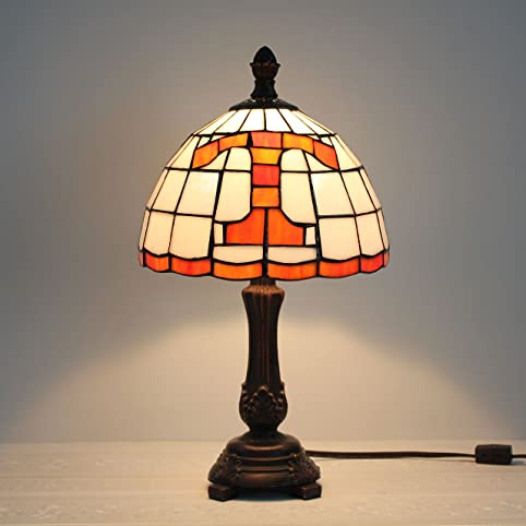Royal 9 inch ncaa tennessee volunteers stained glass table lamp royal 9 inch ncaa tennessee volunteers stained glass table lamp aloadofball Image collections