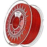 Minadax® 1kg Premium Qualitaet 1,75mm ABS-Filament rot fuer 3D-Drucker hergestellt in Europa