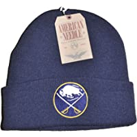 43dfe18a99a6ca American Needle Hockey Cuffed Beanie Hat - NHL Raised Cuff Knit Cap