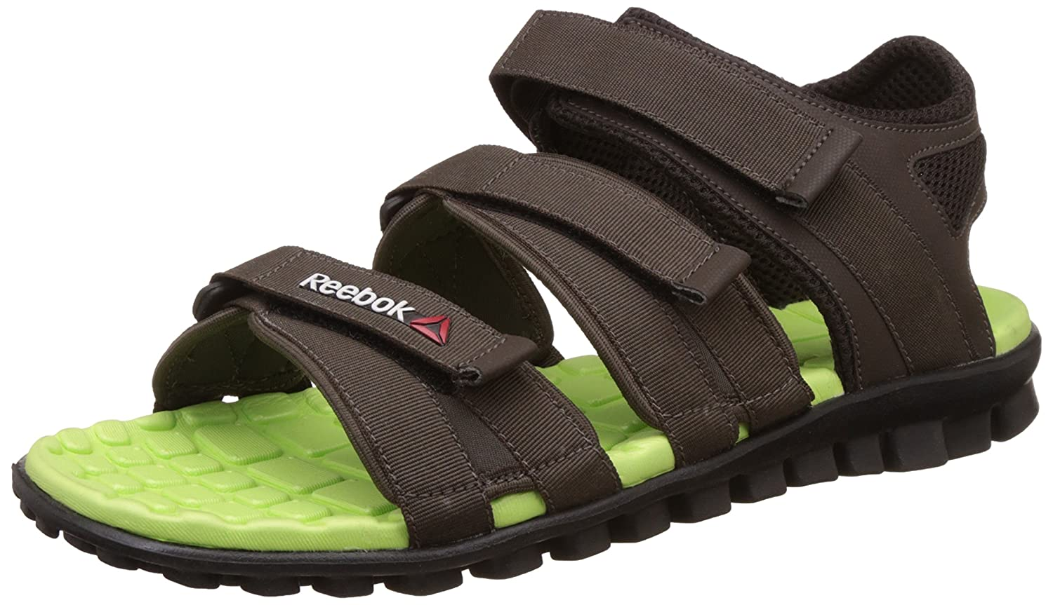 70212c1f5529d Reebok Men s Chrome Flex Stone Athletic   Outdoor Sandals  Buy Online at  Low Prices in India - Amazon.in